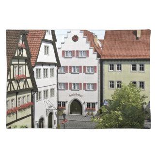 Bayern-Stadt von oben Tischset