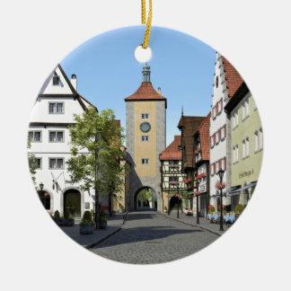 Bayern-Stadthauptstraße Rundes Keramik Ornament