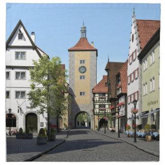 Bayern-Stadthauptstraße Stoffserviette