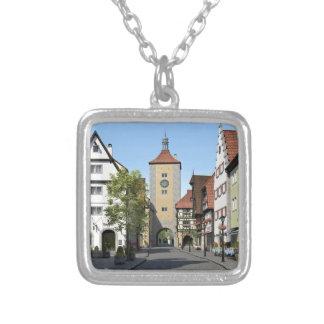 Bayern-Stadthauptstraße Versilberte Kette