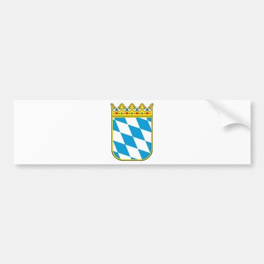 Bayern Wappen Autoaufkleber