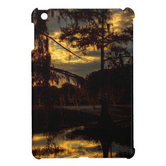 Bayou-Sonnenuntergang-Reflexion iPad Mini Hülle