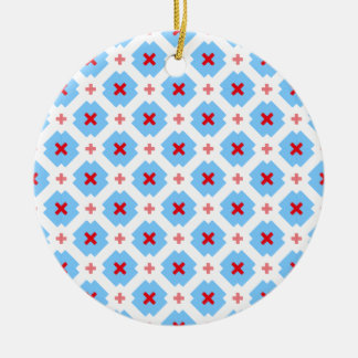 Bayrisch dezent rundes keramik ornament