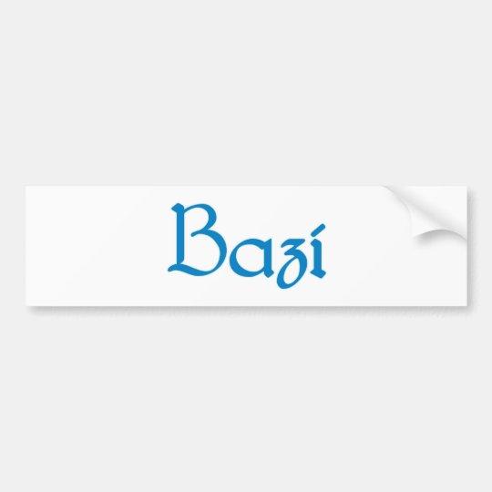 bazi Bayrisch bayerisch Bayern Bavaria Autoaufkleber