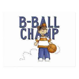 BBall Champions-T - Shirts und Geschenke Postkarte