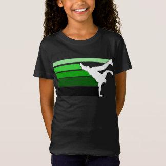BBOY Steigung grn weiße Kinder T-Shirt