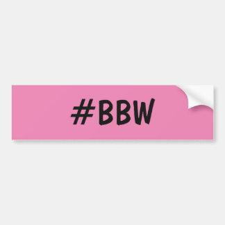 BBW (große schöne Frauen) Autoaufkleber