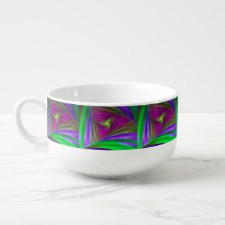 BC 22 Fraktal-Suppen-Tasse Große Suppentasse