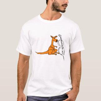 BC- Känguru mit einem Cello-Shirt T-Shirt