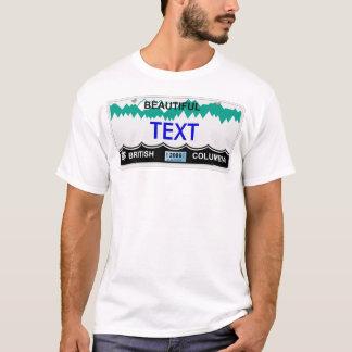 BC Kfz-Kennzeichen T-Shirt