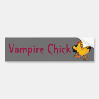 BC- lustiger Vampire-Küken-Autoaufkleber Autoaufkleber