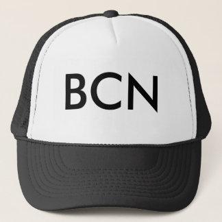 BCN Schwarzes Truckerkappe