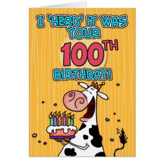 BD schüchtern - 100 ein Karte