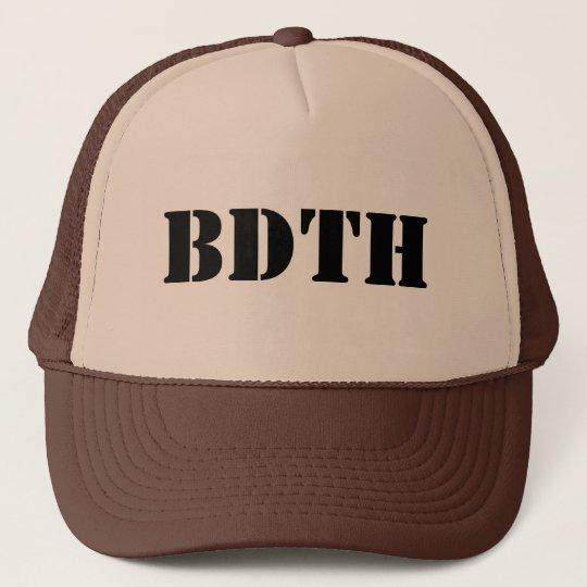 BDTH Logo Truckerkappe