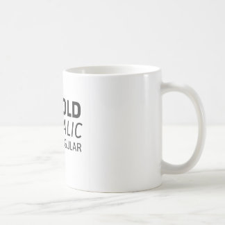 Be bold or italic – Never regular Kaffeetasse