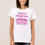 Be Yourself ,be a Unicorn - T-Shirt -Girls