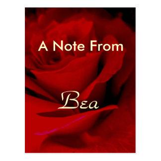 Bea Postkarte
