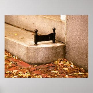 Beacon Hill-Stiefel-Schaber Poster