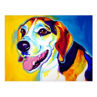 Beagle #1 postkarte