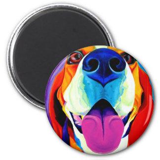Beagle #3 runder magnet 5,1 cm