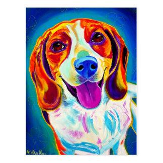 Beagle #6 postkarte