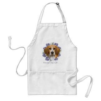 Beagle-Andenken Schürze
