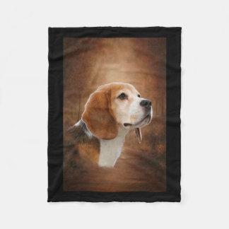 Beagle Fleecedecke