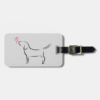 Beagle Gepäckanhänger