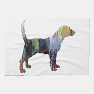 Beagle Handtuch