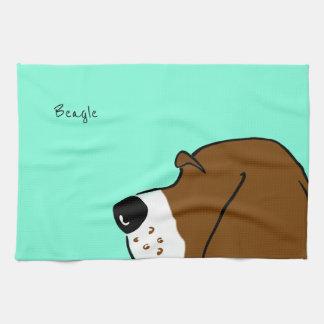 Beagle Head Handtuch