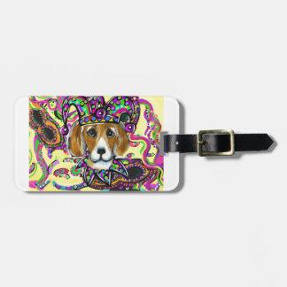 Beagle-Hund Gepäckanhänger