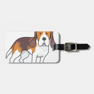 Beagle-Hund Kofferanhänger