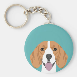 Beagle keychain - Hundkeyfob Schlüsselanhänger