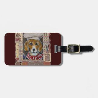 Beagle-Koch Kofferanhänger