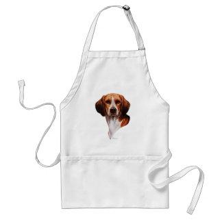 Beagle-Kopf-Studie Schürze