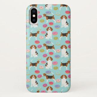 Beagle-Krapfen-Hüllen iPhone X Hülle