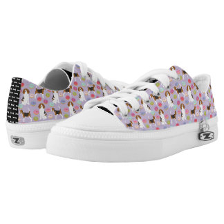 Beagle-Krapfen-Schuhe Niedrig-geschnittene Sneaker