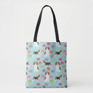Beagle-Krapfen-Tasche Tasche