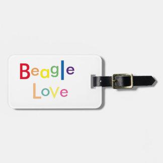 Beagle-Liebe Kofferanhänger