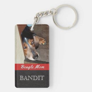 Beagle-Mamma-Beagle-Hund des Schlüsselanhänger