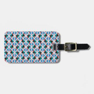 Beagle-Muster Quattrodog Gepäckanhänger