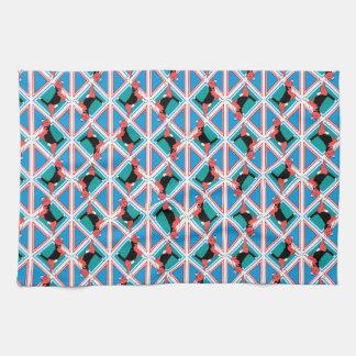 Beagle-Muster Quattrodog Handtuch