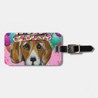Beagle-Party-Hund Kofferanhänger