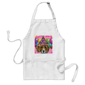 Beagle-Party-Hund Schürze