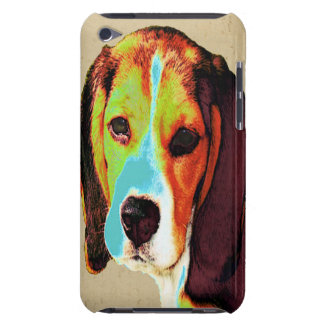Beagle-Pop-Kunst Barely There iPod Cover