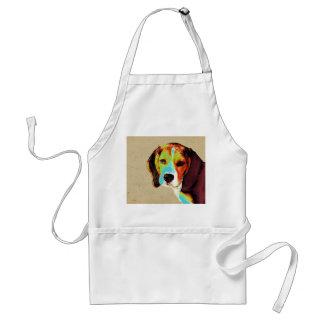 Beagle-Pop-Kunst Schürze