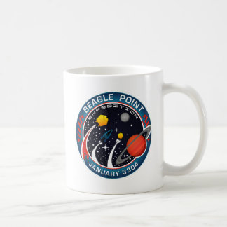 Beagle-Punkt-Expeditions-GedenkTasse Kaffeetasse