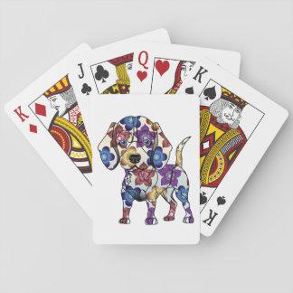 Beagle-Spielkarten Spielkarten