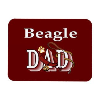 Beagle-Vati-Geschenke Magnet
