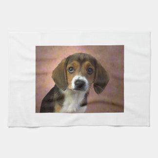 Beagle-Welpen-Hund Geschirrtuch